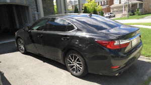 2017 Lexus ES 350 LEATHER/ROOF/BACK UP CAMERA/GPS/LOW KMS!