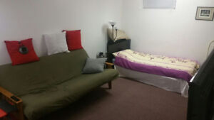 Studio Basement Apartment is Available From 1st of October