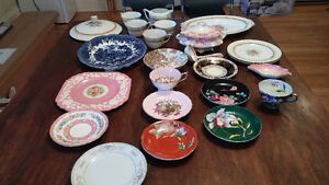 Vaisselle antique / Antique dishes