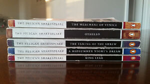 William Shakespeare book collection