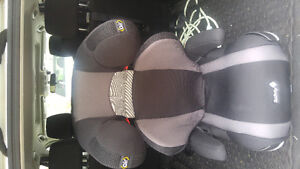 Safety first air booster seat