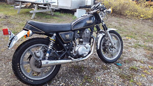 SR500 Yamaha 1978