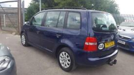 VW TOURAN 1.9 TDI S 6 SPEED 7 SEATER 2007 / TIMING BELT DONE / FSH / 12 MNTS MOT