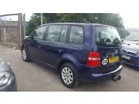 VW TOURAN 1.9 TDI S 6 SPEED 7 SEATER 2007 / TIMING BELT DONE / FSH / 12 MNTS MOT