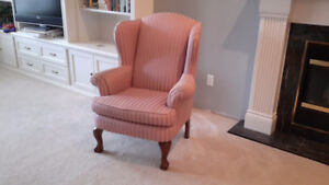 HIGH BACK CHAIR-MINT CONDITION