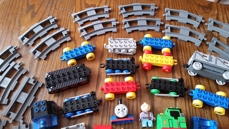 DUPLO LEGO THOMAS THE TRAIN & FRIENDS & TRACK LOT   Toys & Games ...