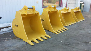 WGT – Excavator: Rakes, Rippers, Buckets, & Couplers Kawartha Lakes Peterborough Area image 1