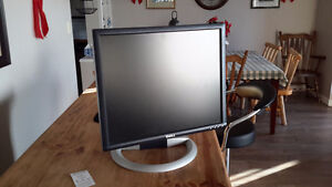 "19"" Dell tilt and swivel monitor"
