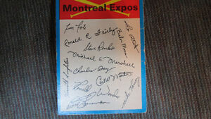 Montreal Expos 1973 card