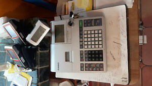 Casio Electronic Cash Register pcr -T520 / CHAIRS