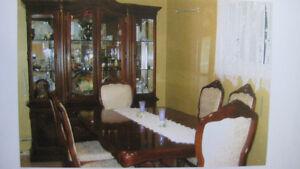 Magnificent Fraser Italian Dining room set