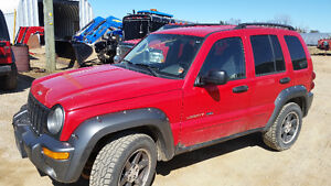 Scrapping a 2003 Jeep Liberty