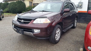 2002 Acura MDX SUV, Crossover CERTIFIED AND ETESTED