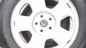 """Mags-Rims Honda Pilot 17""""pneus Hiver 245 65 R17 BF GoodRich"""