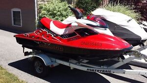 Mint 2007 RXP seadoo 70mph with double trailer