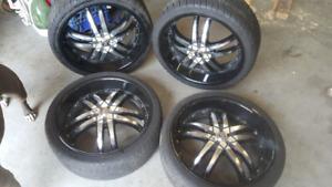 """20"""" deep dish wheels"""