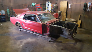 1966 ford mustang coupe project car