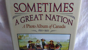 Vintage Canadian Photograph Collection First Edition Canada 150