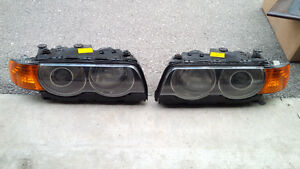 BMW E38 740i Headlights 99-01 Facelift 740 750