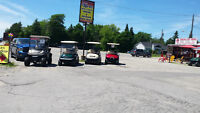 Golf Carts and Acessories.