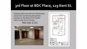 Great Office Space with Private Entrance to the Parkade