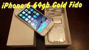 IPhone 6 64gb Gold with Fido  *** PICK UP ASAP ***