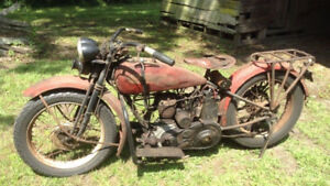 Looking for Vintage American Made Motorcycles