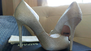 Wedding or evening shoes