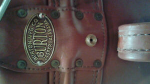 Burton Leather golf bag