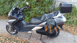 Honda Silverwing scooter 2007, Reduced