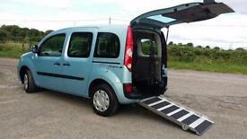 2011 Renault Kangoo Expression AUTOMATIC Wheelchair Disabled Accessible Vehicle