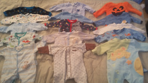 PRICE REDUCED!!!! 0-3 months baby boy clothing lot