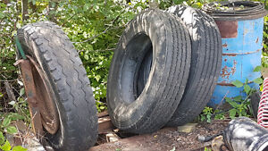 2 only--- used Michelin AZA1 tires
