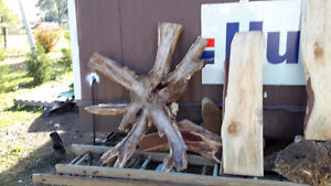 LIVE EDGE LUMBER PIECES NEAT SHAPES