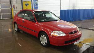 1998 Honda Civic cx hatchback Coupe (2 door)