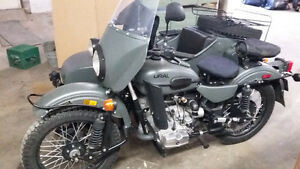2012 Ural 2 Wheel Drive Gear Up - OVC Sidecars