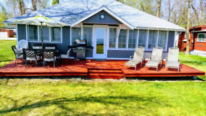 Lakefront/waterfront Cottage Rent/rental Winnipeg beach