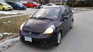 2007 Honda Fit Sport 5sp