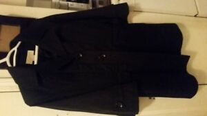 Micheal Kors Black Trench Jacket