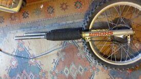 Honda XR 250 front forks