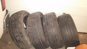 4 Hankook Optimo H426 tires 255/50R20 - REDUCED! 70% remaining
