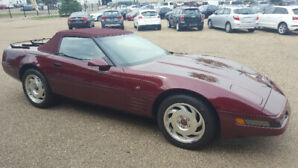 "1993 40th Anniversary Corvette ""triple ruby"""