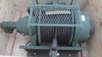 55,000 lb Tulsa Hydraulic Winch