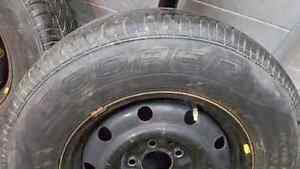 Set of 15inch 4 tires and rims  Kitchener / Waterloo Kitchener Area image 2