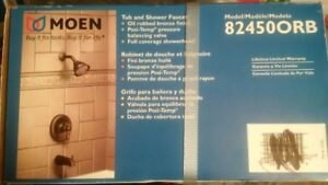 New MOEN 82450ORB Tub and Shower Faucet