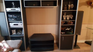 Wall Unit and T.v Stand