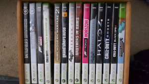 15 Xbox 360 games for sale