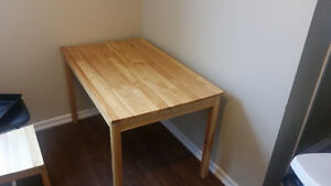Pine Kitchen/Dining Table - Great Condition