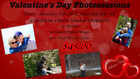 Double Date Valentine's Day Photo Session