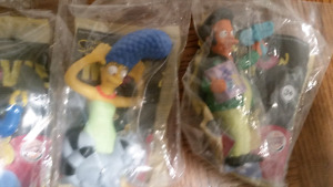 The Simpsons Burger King collectable toys